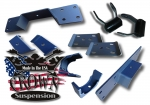"1988-1998 C1500 5"" Rear Flip Kit W C-Notch"
