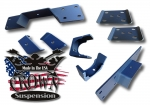 "1988-1998 C1500 6"" Rear Flip Kit With C-Notch"