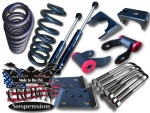 "2004-2014 3/5"" Drop Kit 3"" Coils & 5"" Rear Flip Kit W/ Rear Shocks"