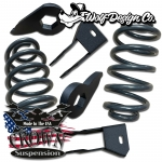 "3/4"" Lowering Kit 4"" Coils 2-3"" Torsion Keys With Shock Extenders"