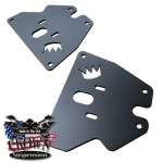 1963-1987 Chevvrolet GMC C10 Front Upper Bag Plates